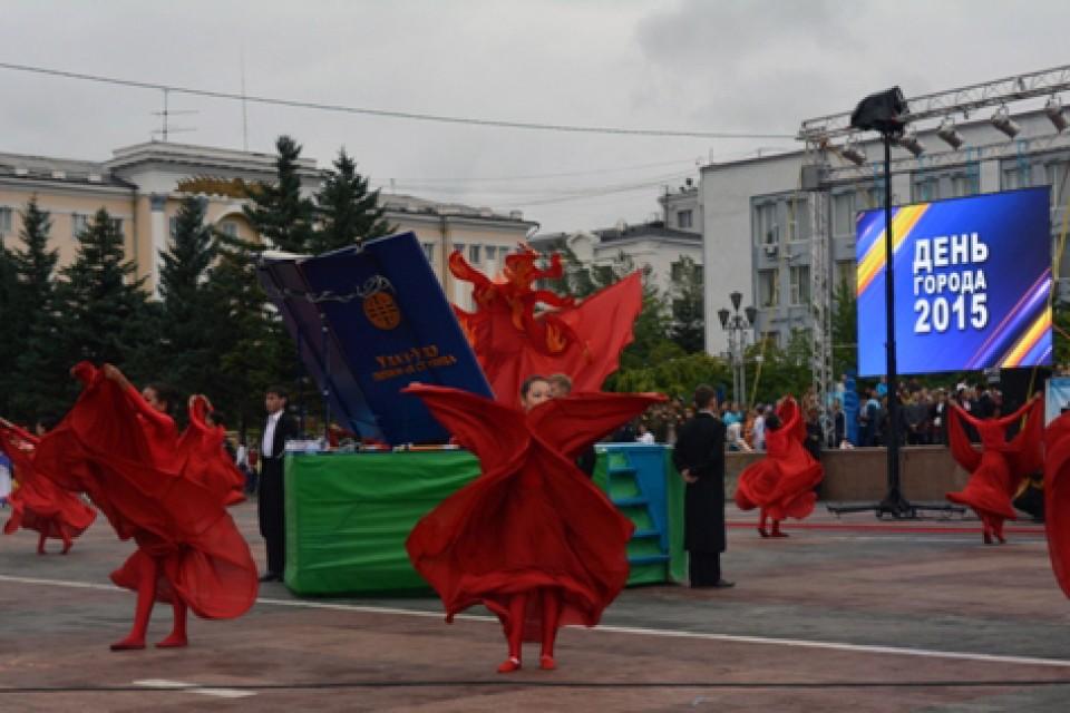 День города Улан-Удэ 2015