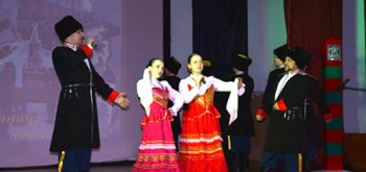 Концерт в г. Кяхта