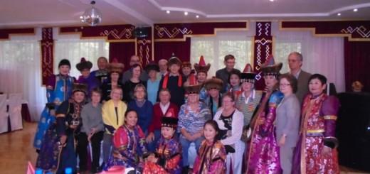 Встреча туристов из Финляндии в ресторане «Гэсэр»