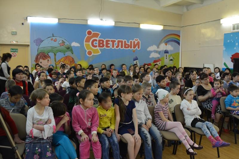 Концерт в реабилитационном центре «Светлый»